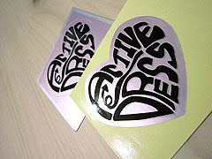 Silver Vinyl Stickers Printing